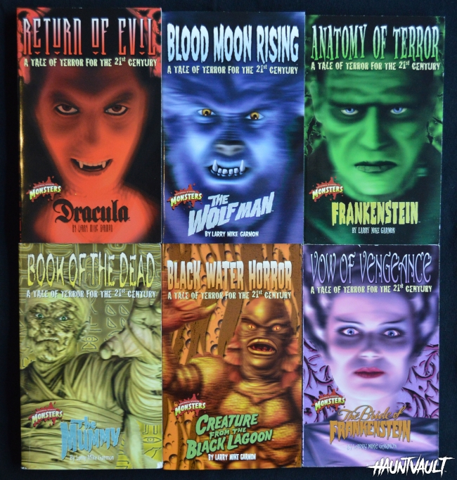 A Series of Universal Monsters Teen Books Published 2000-2001