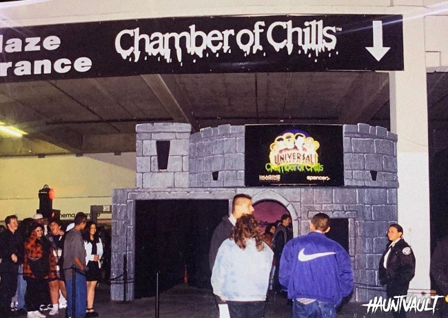 Chamber of Chills Maze Entrance